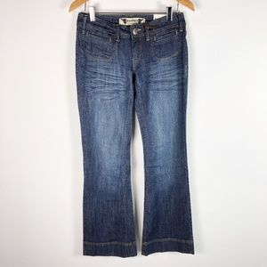 [FREESTYLE REVOLUTION] Flared Blue Jeans
